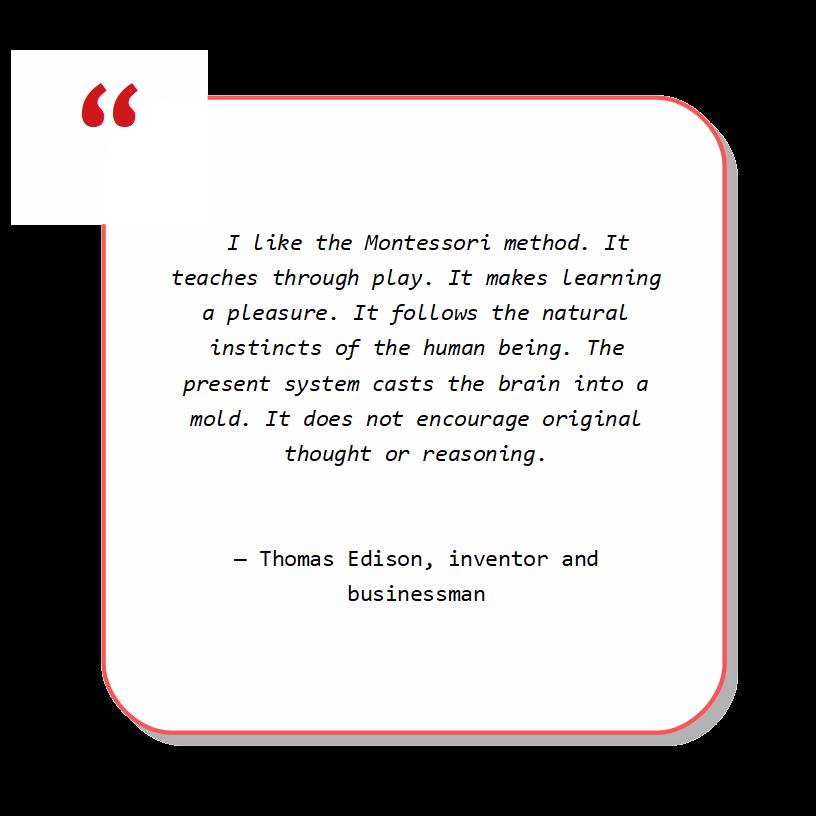 Montessori quote