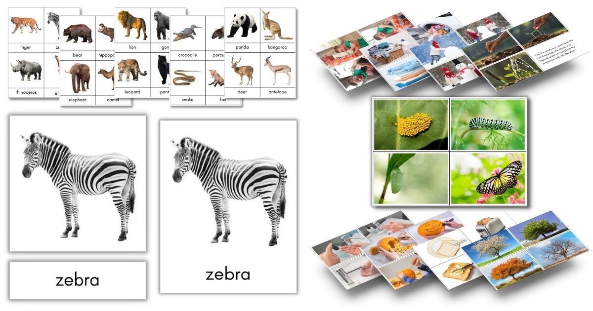 Click to view Montessori printables